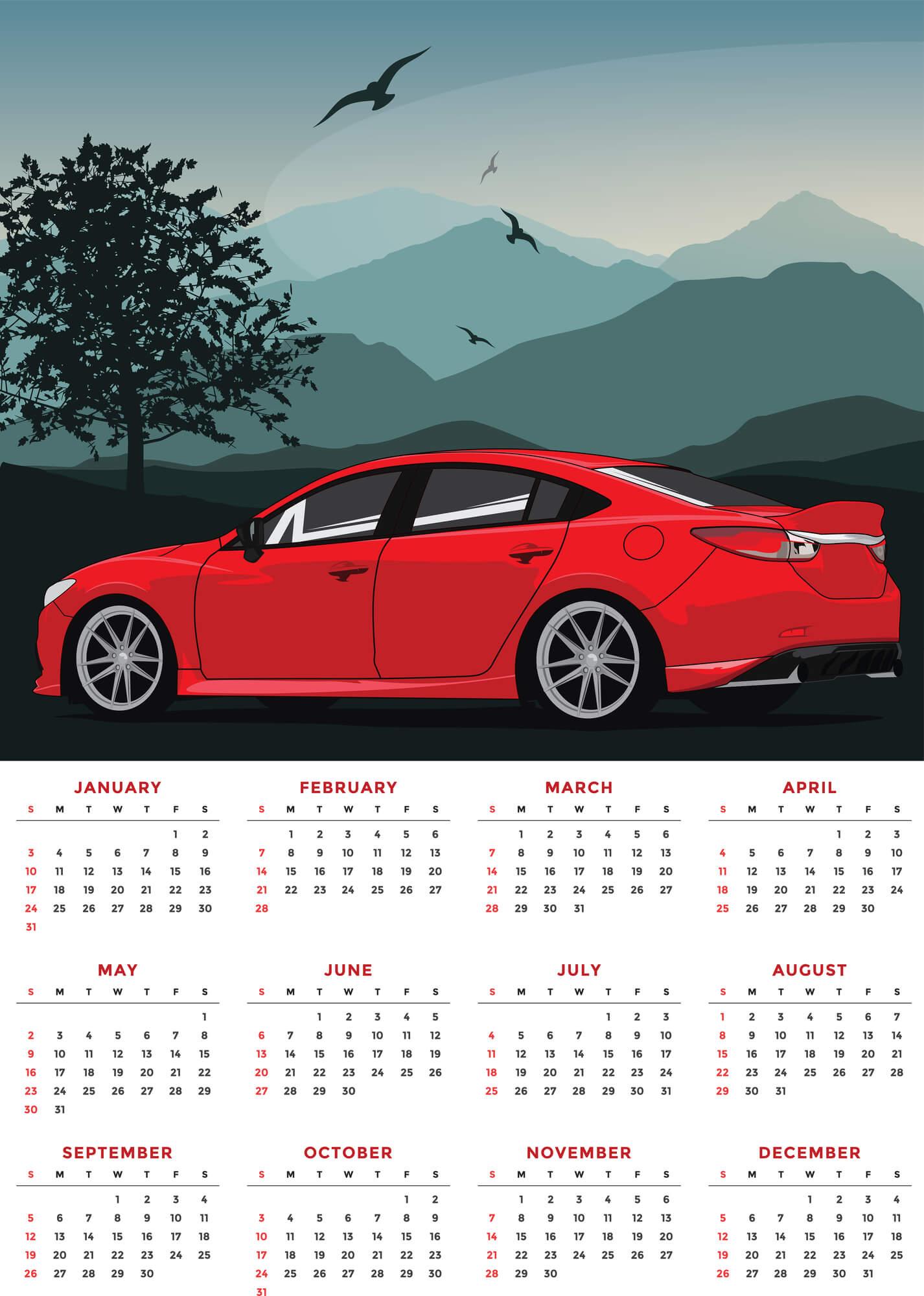 ปฎิทินการออกรถ ฤกษ์ออกรถที่ดีในปี 2021
