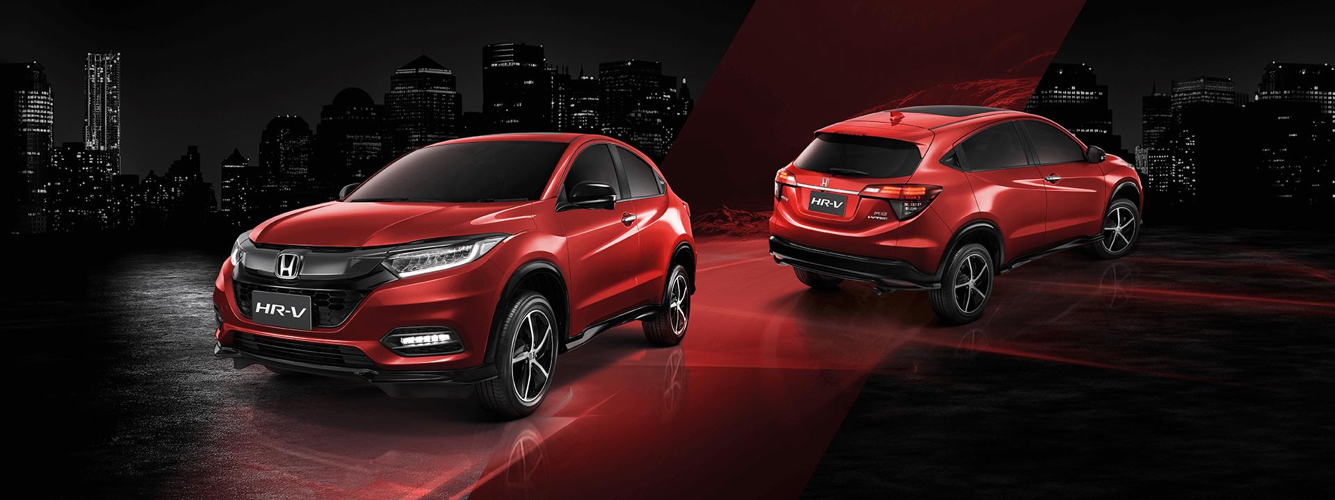 Honda HR-V 2021 เจาะลึกพร้อมราคาตารางผ่อน