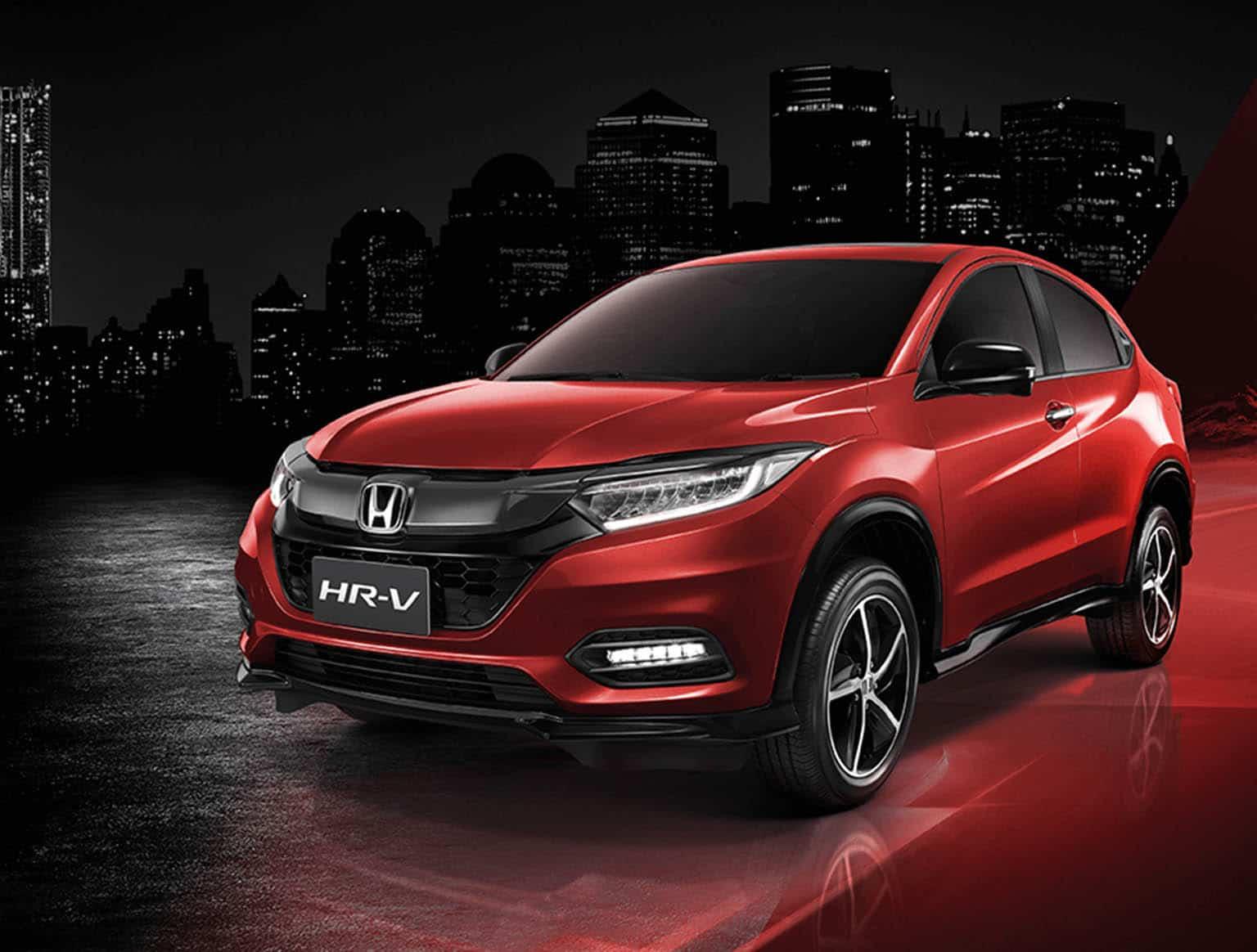 Cover บทความ Honda HRV 2021 พร้อมราคา